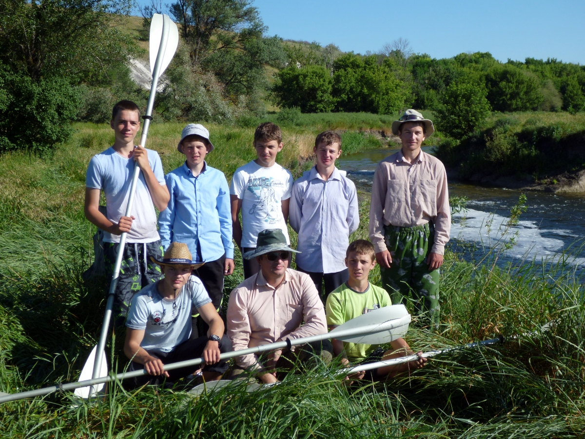 Участники экспедиции