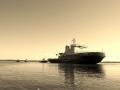 Буксировка ледокола «Владивосток»